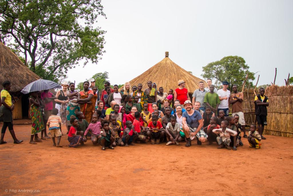 Asbiro w Zambii - wioska