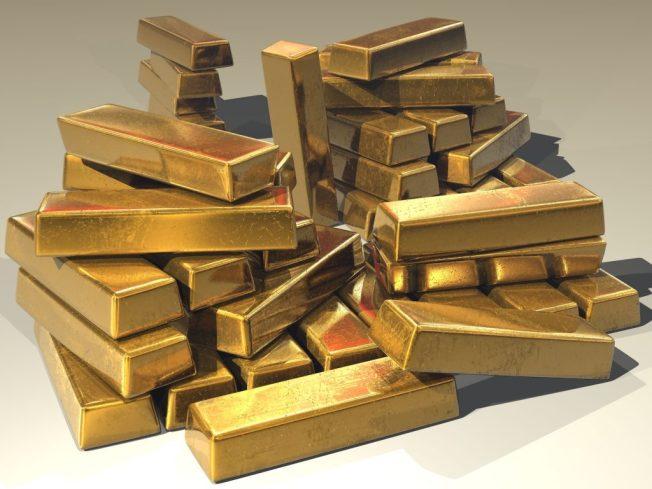 sztabki złota, złoto inwestycyjne