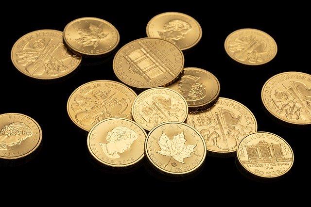 złoto, złoto w monetach, złoto inwestycyjne